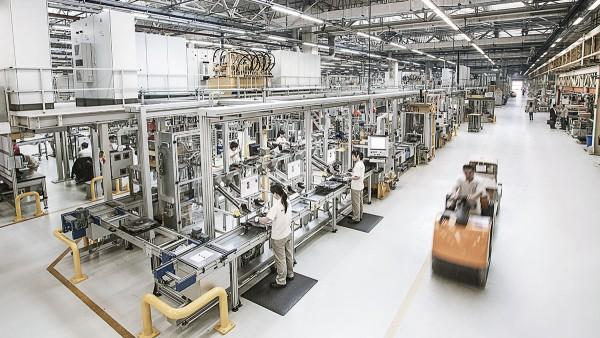 Nach dem Baukastenprinzip geplant: das Schaeffler-Werk in Taicang, China