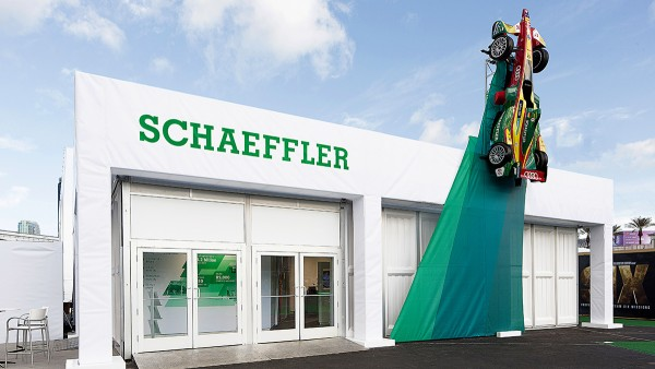 Premiere: Schaeffler took part in the Consumer Electronics Show in Las Vegas for the first time in January 2017.
