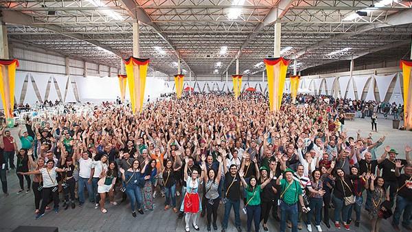 Schaeffler Brasilien feiert das 60-jährige Firmenjubiläum.