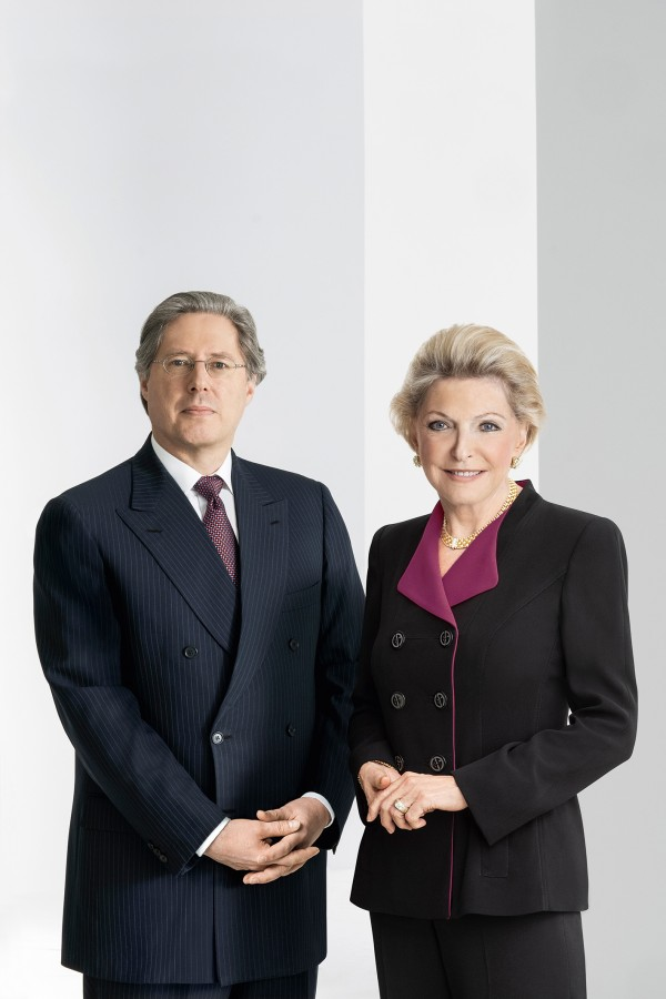 Shareholder Schaeffler: Maria-Elisabeth Schaeffler-Thumann and Georg F. W. Schaeffler