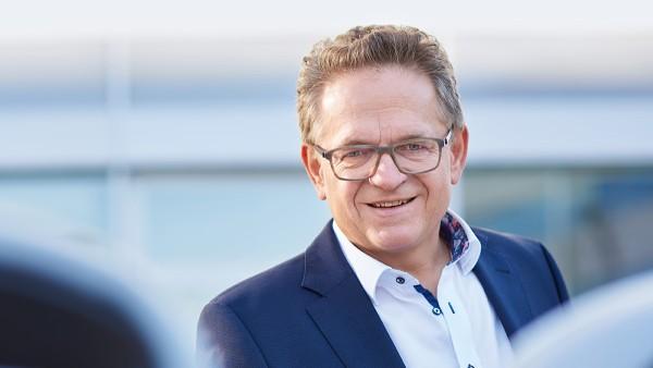 Roland Arnold, Vorsitzender der Geschäftsführung Schaeffler Paravan Technologie GmbH & Co. KG,  Pfronstetten-Aichelau/Deutschland