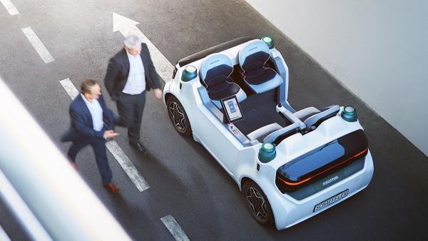 Der Schaeffler Mover ist eine Plattform für die Entwicklung von Technologien zum autonomen Fahren.