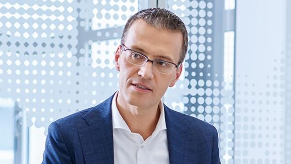 Dr. Tomas Smetana, Chief Technology Officer der Region Asien/Pazifik und Mitglied des Executive Board Asien/Pazifk, Yokohama/Japan