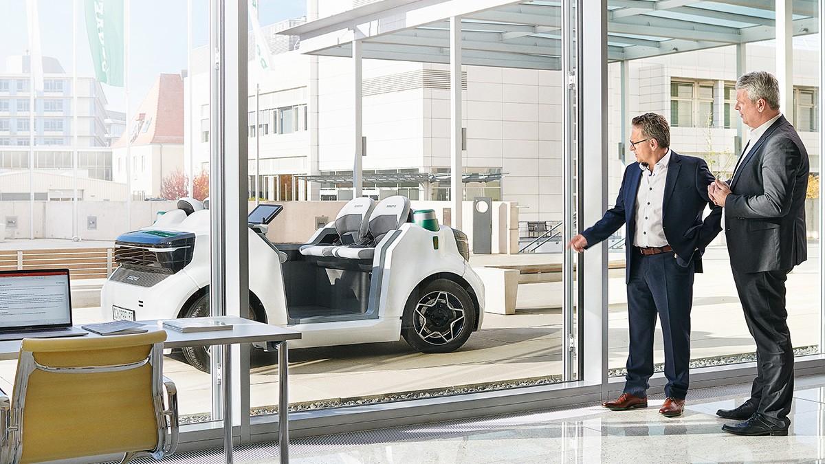 Schaeffler Mover – shaping autonomous mobility