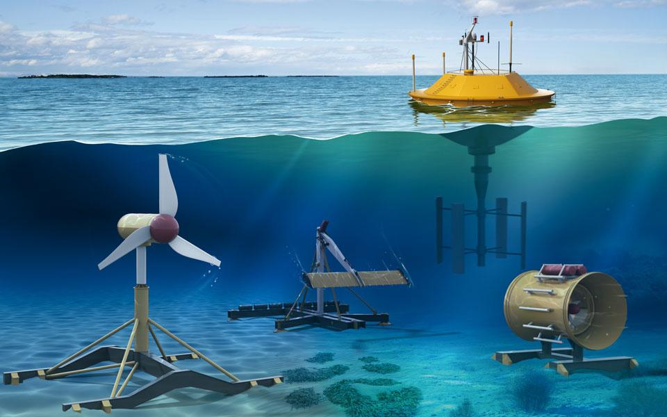 Water Power   Turbine Bearing