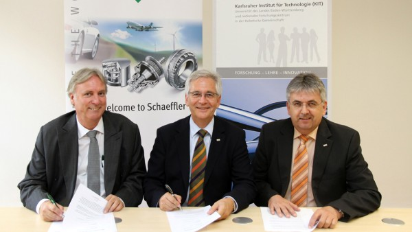 """as Karlsruher Institut für Technologie (KIT) und die Schaeffler AG haben ein """"Memorandum of Understanding"""" (MoU) zu einer Forschungskooperation unterzeichnet."""