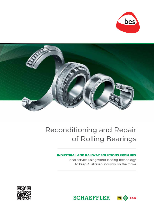 Reconditioning and Repair of Rolling Bearings