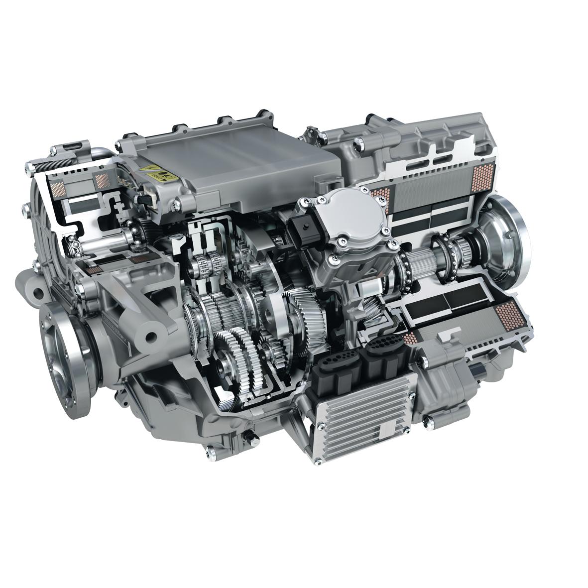 2013 Smart Fortwo Electric Drive Transmission: Schaeffler North America