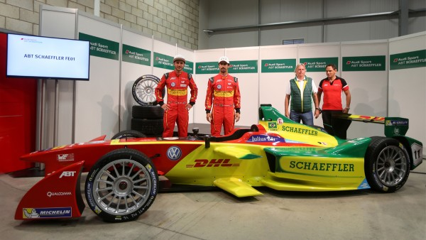 ABT Schaeffler FE01 ready for Formula E season opener