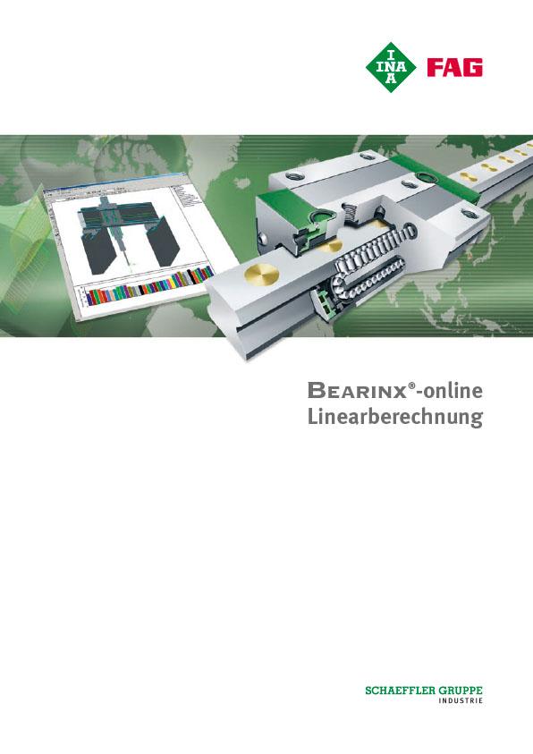 BEARINX®-online Linearberechnung