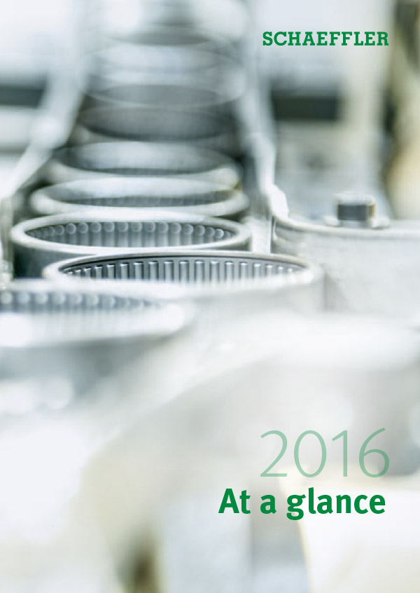 Schaeffler 2016 - At a Glance
