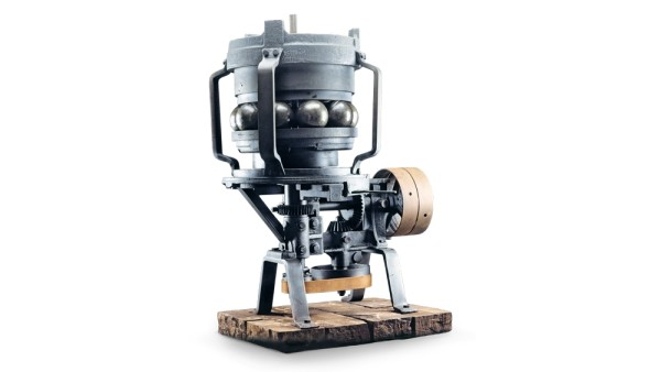 Ball grinding machine
