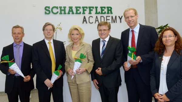 2013: The Schaeffler Academy, which combines all of the Schaeffler Group's training programs worldwide, is founded.
