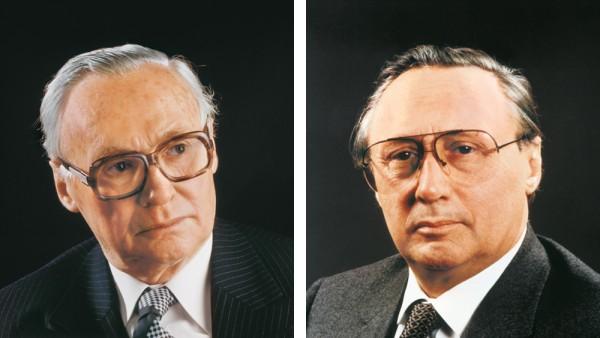 Brothers Dr. Wilhelm Schaeffler and Dr.-Ing. E. h. Georg Schaeffler