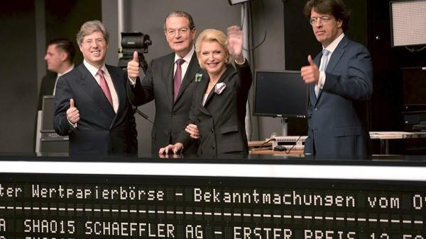 Börsengang der Schaeffler AG im Oktober 2015