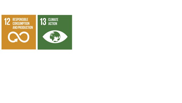 """With its energy efficient and eco-friendly processes, the company contributes to the SDGs """"responsible consumption and production"""" (SDG 12) as well as """"climate action"""" (SDG  13)."""