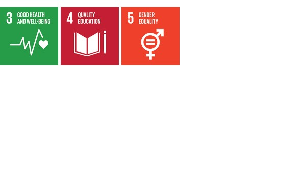 """The Schaeffler Group's commitment to its employees and society contributes in many ways to achieving the SDGs. This applies in particular to """"Good health and well-being"""" (SDG 3), """"Quality education"""" (SDG 4), and """"Gender equality"""" (SDG 5)."""