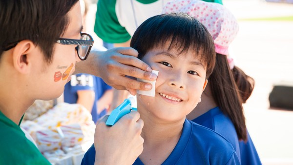 """Bringing enjoyment to disadvantaged children, like at this sports festival for around 1,700 children and their families, is a core part of Schaeffler Korea's """"Evergreen"""" CSR program."""