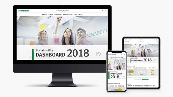 Online sustainability report 2018 of Schaeffler Group