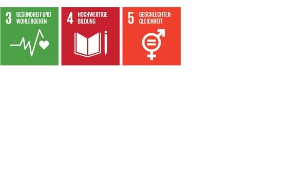 """Das Engagement der Schaeffler Gruppe für Mitarbeiter und Gesellschaft trägt auf vielfältige Weise zum Erreichen der SDGs bei. Das gilt insbesondere für """"Ein gesundes Leben für alle"""" (SDG 3), """"Bildung für alle"""" (SDG 4) und """"Gleichstellung der Geschlechter"""" (SDG 5)."""
