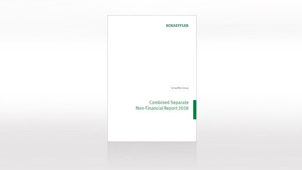 Combined separate non-financial report 2018 of Schaeffler Group