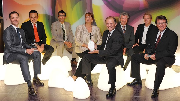 Best Open Innovator Award 2011: Jury and prizewinners