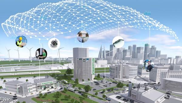 Bauteile mit Sensoren, Aktuatoren und Steuergeräten können wertvolle Daten über den Maschinenzustand erfassen.