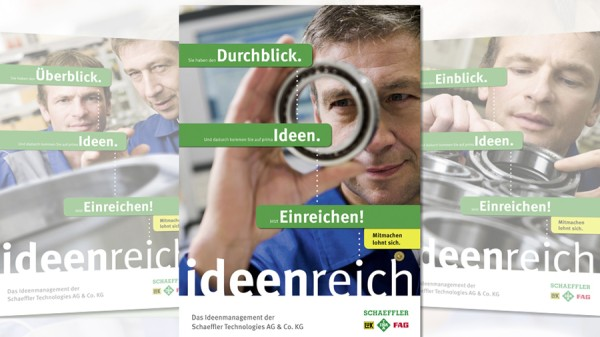 Ideas management at Schaeffler