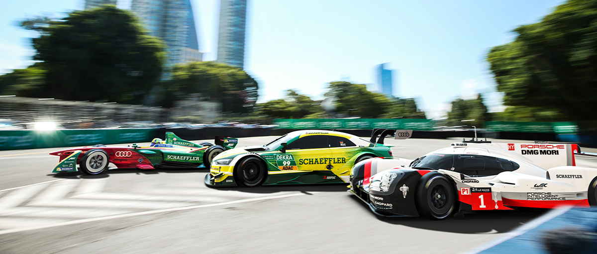 schaeffler group technology innovation schaeffler in motorsport