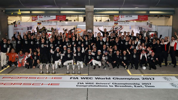 From 2015 to 2017 Schaeffler and Porsche dominate the WEC and the 24 Hours of Le Mans.