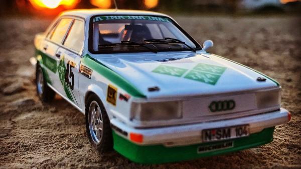 Audi 80 quattro, 1986