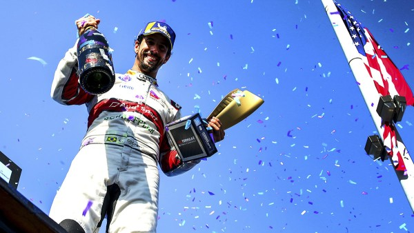 Lucas di Grassi wins the New York ePrix.