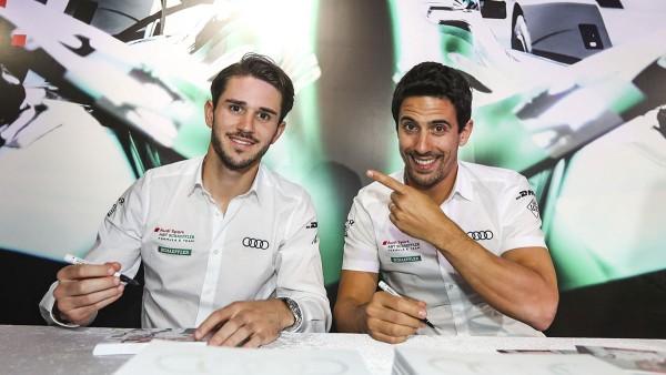 Daniel Abt und Lucas di Grassi: Die einzige Fahrerpaarung, die seit der Gründung der Serie Bestand hat.
