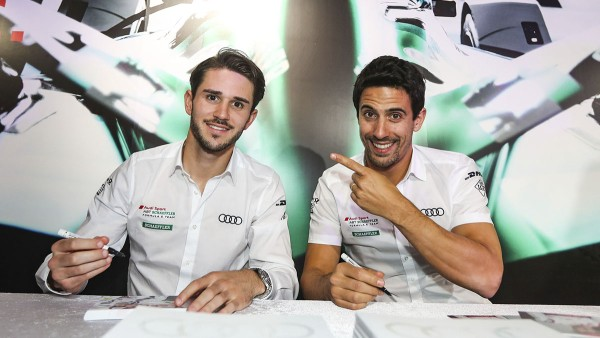Daniel Abt and Lucas di Grassi: The only driver duo that has remained unchanged since the founding of the series.
