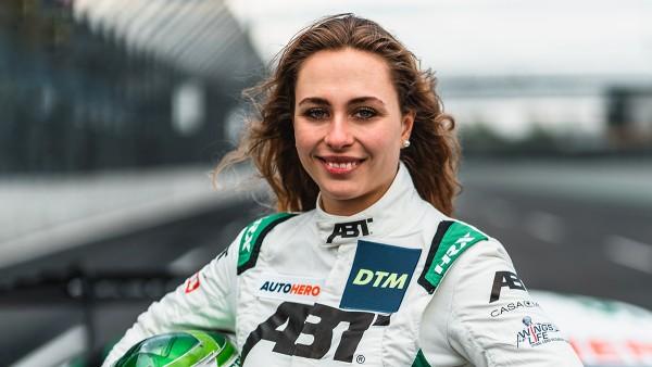 Sophia Flörsch, Schaeffler brand ambassador and driver of the Audi R8 LMS GT3