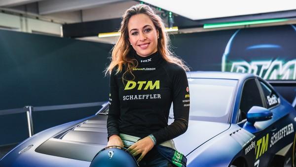 Schaeffler-Markenbotschafterin Sophia Flörsch ist eines der größten deutschen Nachwuchstalente im Automobilrennsport.