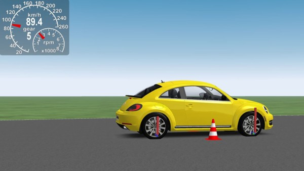 How does the vehicle behave with the newly developed product? Simulation technology helps to analyze the entire vehicle.
