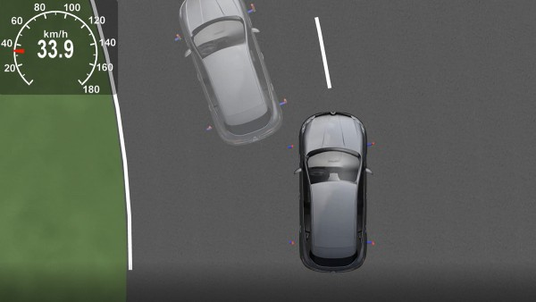 Simulation technology shows how the vehicle behaves in the event of a failure.