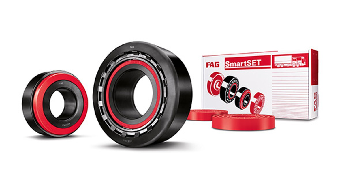 Nuevo FAG SmartSET- ¡La solución de reparación y rodamiento de rueda para la línea pesada, listo para el montaje!
