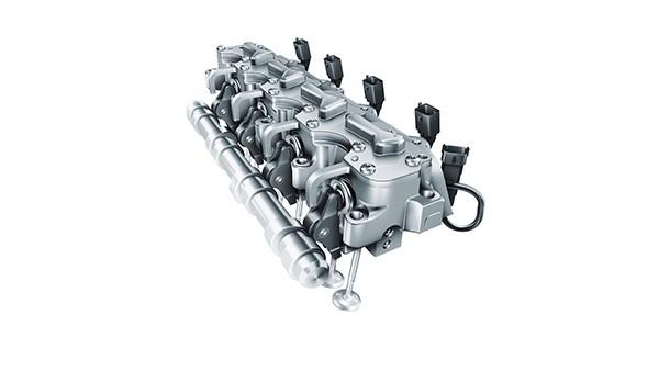 O Grupo Schaeffler lança no mercado o primeiro sistema totalmente variável de atuação eletro-hidráulica de válvulas. Em combinação com downsizing, o sistema permite reduzir o consumo de combustível e as emissões de CO2 em até 25%.