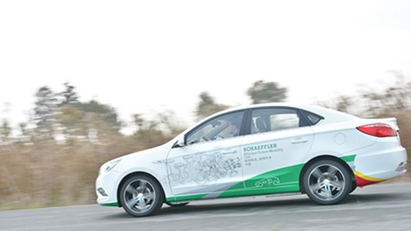 中国概念车在舍弗勒大中华区汽车技术研讨会2014上首次亮相