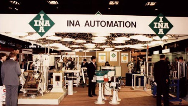 London office closed. Regional offices opened in Surbiton, Surrey, Rossendale, Lancashire and Boldmere, Birmingham. Office administration established at the Dafen Site. INA Automation began at a small facility in Winson Green, Birmingham.