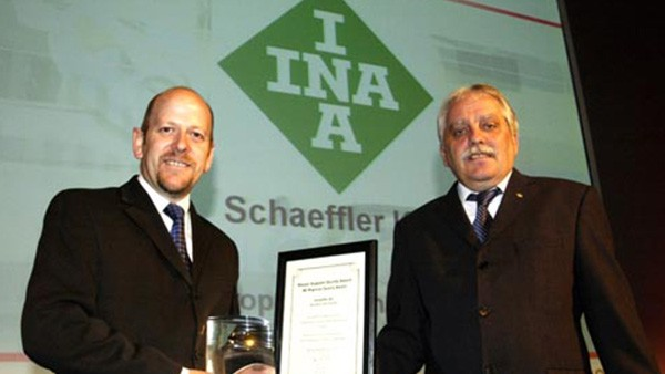 1st January - Schaeffler (UK) Ltd begins trading. Schaeffler UK is awarded Nissan Quality Award. Schaeffler (UK) receives Varian Medical Systems Platinum Award of the year for the sixth time. Schaeffler wins coveted 'Education, Skills and Leadership' award from the Confederation of British Industry for outstanding achievements in people management practice.