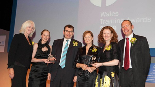 Schaeffler UK's manufacturing plant in Llanelli is awarded a Wales Training Award for Partnership and Collaboration in recognition of the company's excellence in training, people development and organisational change.