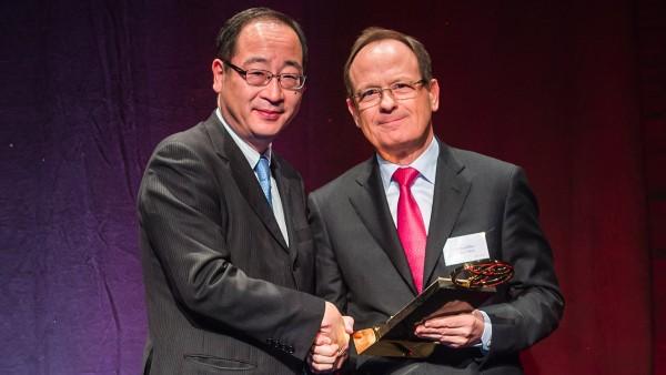 Schaeffler receives gold award from Toyota Motor.