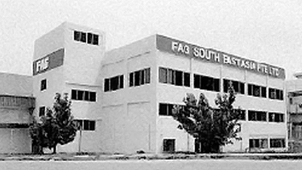 FAG South East Asia Pte Ltd was set up. We started our operation in October that year with our own warehouse at Kim Chuan.