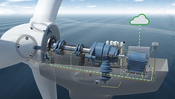 Na systéme sledovania stavu je integrovaných sedem snímačov zrýchlenia na pohone veternej elektrárne.