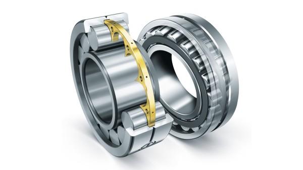 Cilinderrollagers en pendelrollagers van Schaeffler voldoen aan de extreme eisen voor bouwmachines.