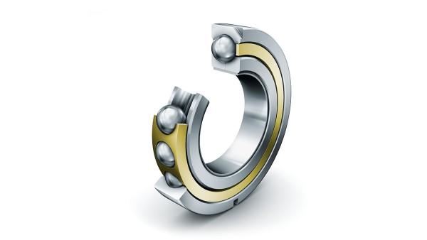 FAG four-point contact ball bearings with solid brass cage