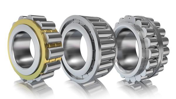 Roda planetária: Rolamento de rolos cilíndricos RN da FAG (rotação direta), rolamento de rolos cilíndricos sem gaiola RSL da INA (rotação direta), rolamento de rolos cilíndricos RSL de duas carreiras sem gaiola da INA (rotação direta)